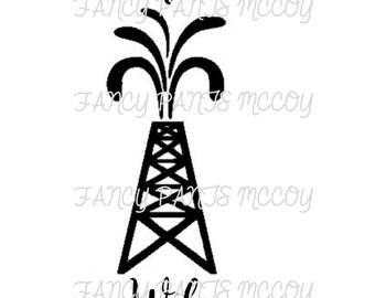 Oilfield Wife SVG