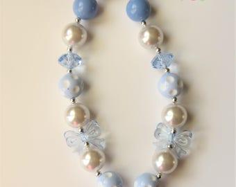 Girls Chunky Bubblegum Necklace, Chunky Necklace, Girls Jewelry, Little Girls Bubblegum Necklace, Chunky Bead Necklace, Toddler Jewelry