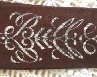 ANTI-ESTABLISHMENT Secret Message Hand-Painted Vintage NECKTIE Tie