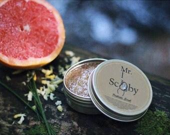 Organic Scrub, Organic Scoby Scrub, Scoby, Probiotic Scrub, Himalayan Salt Scrub, Sugar Scrub, Gift for Her, Gift for Him