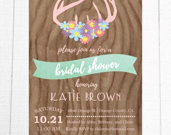 Boho Rustic Bridal Shower