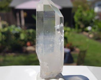 38gr Colombian lemurian light seed quartz crystal #139
