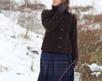 Winter wool coat Countess