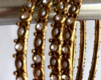 Gold Metal bracelets