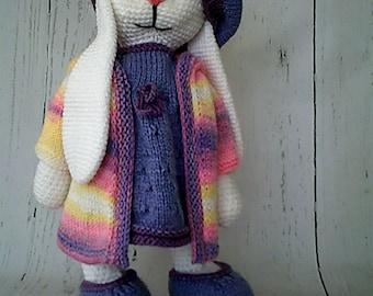 Crochet toys,handmade toys,crochet bunny,baby toys ,soft toys,birthday gift, christmas gift,plushies toys +FREE SHIPING