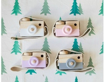 Solid Wooden Toy Camera