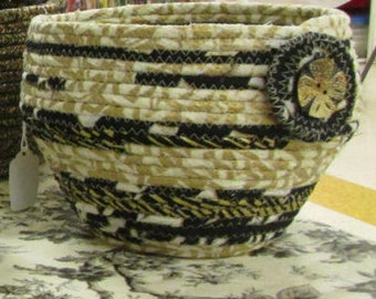 fabric ceramics, basket, bowl, made to order basket