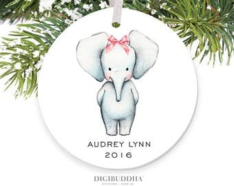 Elephant ornament  Etsy