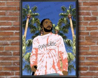 Kendrick Lamar Poster Print