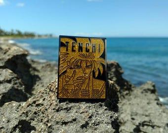 Tenchi Muyo enamel anime pin