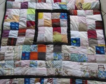Patchworkdecke-/Kuscheldecke-Kinderdecke-quilt-Unique