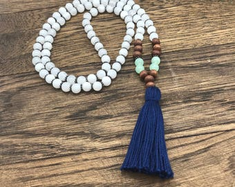 Girl Tassel Necklace, Girls Bead Necklace, Tassel Necklace For Girls, Tassel Necklace For Kids, Kids Tassel Necklace Childrens Bead Necklace