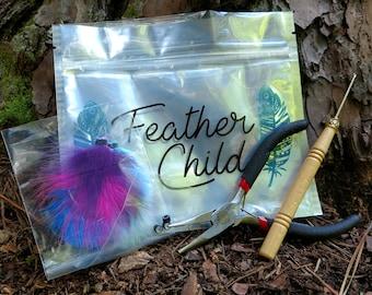 Feather extension starter  kit