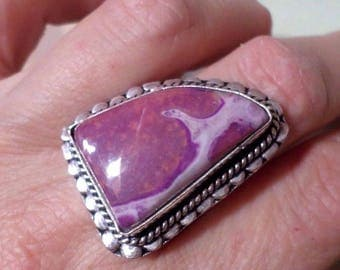 RING 925 sterling silver and Variscite