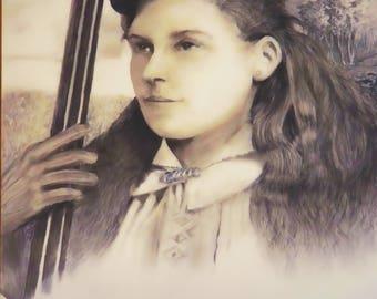 Annie Oakley, Sharpshooter for Bill Cody's Wild West Show  1860 - 1926