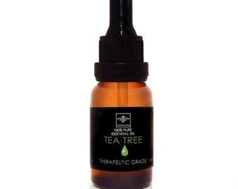 Tea Tree Essential Oil 100% Pure Natural Therapeutic Grade Aromatherapy 10ml