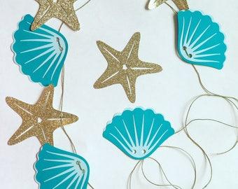 Garland - Under The Sea / Mermaid Birthday Party