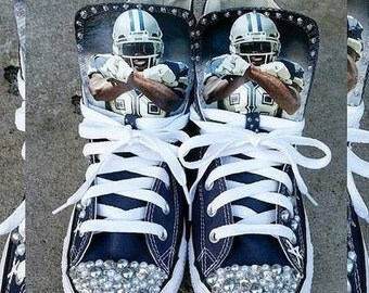 Dallas Cowboys Blinged out Converse