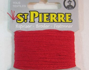 Yarn darning holy stone - red 534