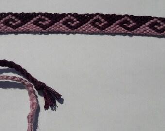 Friendship bracelet poséidon pattern