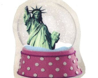 Used for sewing or craft: Noël Statue of liberty New York snow globe / USA