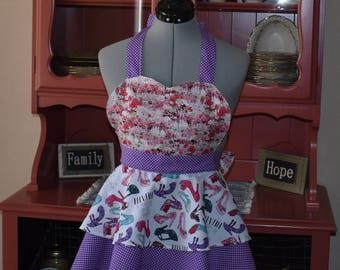 Fun Apron... Fun Apron...Great for any chef...makes great gifts...can be custom made..Mommy and Me Apron...