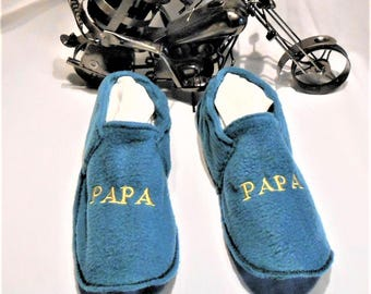 Slippers washable dad fleece t 42/44