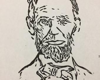 Abraham Lincoln Linotype