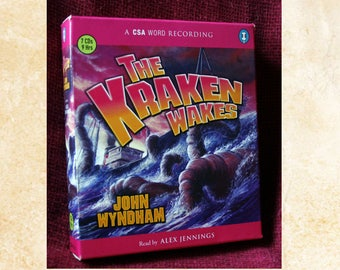 The Kraken Wakes, audiobook (7 CDs. 9 hrs) By John Wyndham.