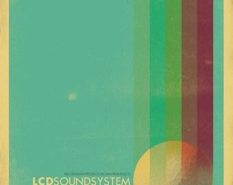 LCD Soundsystem - The Fillmore - June 3, 2010 Poster