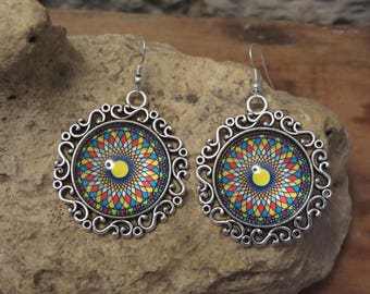 "Earrings ""collection mandalas"""