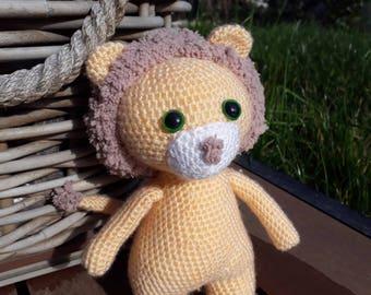 Lion - Amigurumi crochet
