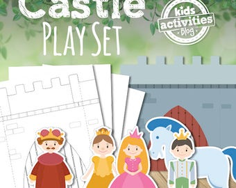 Printable Castle Play Set