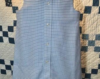 Blue plaid dress size 3T