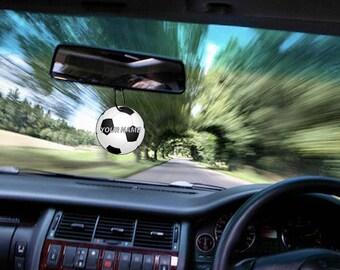 Personalised Name Football/Soccer Car Air Freshener