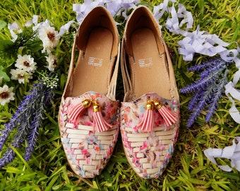Huarache Sandals Pink