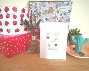 Handmade Feel-Good Card