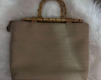 Cane Bamboo Handbag