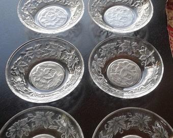 Princess House Fantasia Crystal Berry Bowls set of 8
