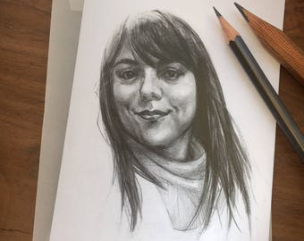 Mini Graphite Portrait