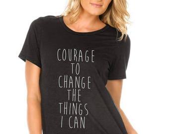 Women's Courage to Change Tee