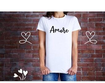 Amore T-shirt/Love  Soft Tee