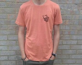 Fish Embroidery Tshirt