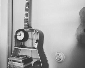 custom made to order repurposed guitar shelf