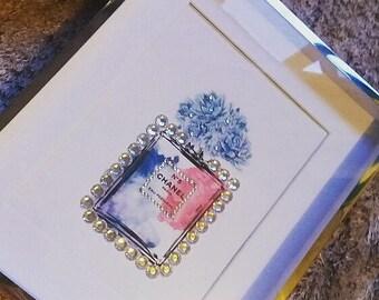Chanel inspired frame