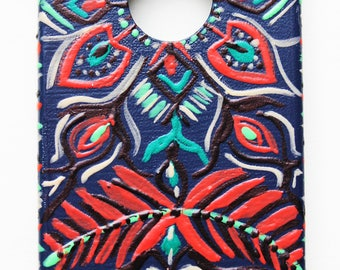 Custom Handpainted IPhone Case - Made to Order - Free Worldwide Shipping