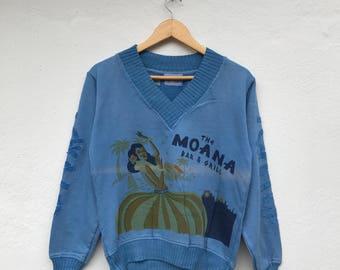 MOANA Hawaiian Nice Design Vintage Sweatshirt