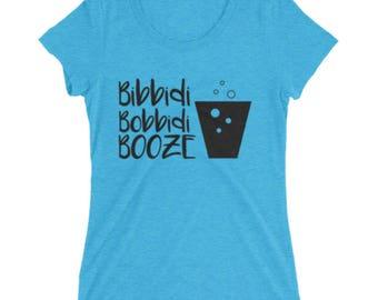Bibbidi Bobbidi Booze, Magic Kingdom Disneyworld t-shirt, Cinderella
