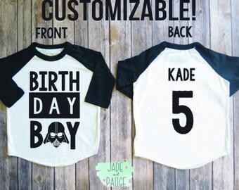 Star wars darth vader birthday, darth vader shirt, darth vader personalized shirt, star wars birthday, darth vader birthday, star wars gift