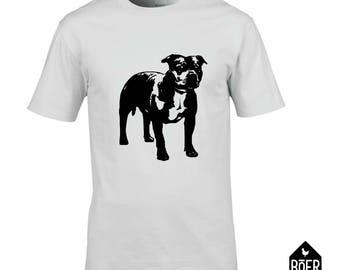 Staffordshire bull terrier, Stafford, T-shirt, white or black, size S/M/L/XL